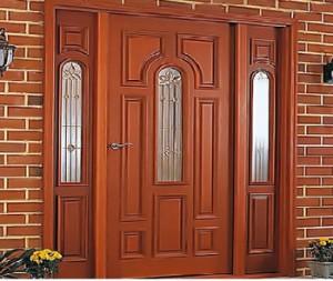 Фото металлических входных дверей