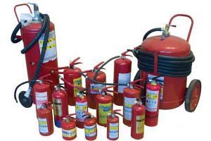 Фото - виды порошковых огнетушителей