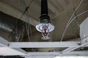 Фото - спринклперные системы на воздухе