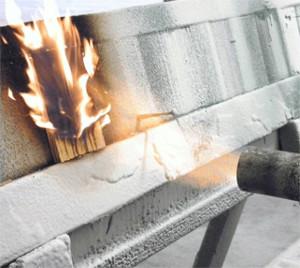 Фото - определение огнестойкости