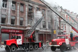 Фото - пожар в театре