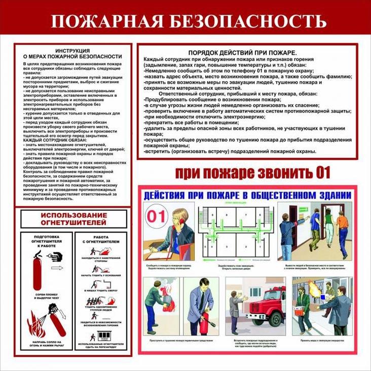 Пожарная безопасность на заводе