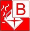 Символ класса пожара В