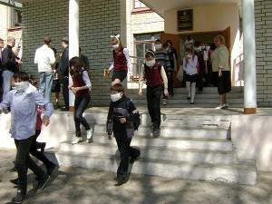 Эвакуация детей при пожаре