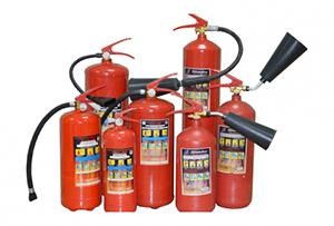 Фото - виды огнетушителей