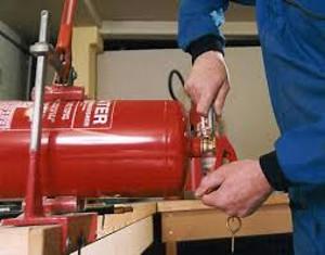 Фото - обслуживание огнетушителей
