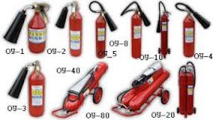Фото - углекислотный огнетушитель