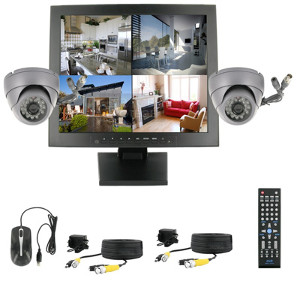 Комплект системы видеонаблюдения