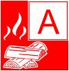 Символ пожара класса А